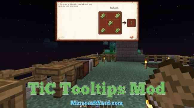 TIC Tooltips Mod 1.14/1.13.2/1.12.2/1.11.2
