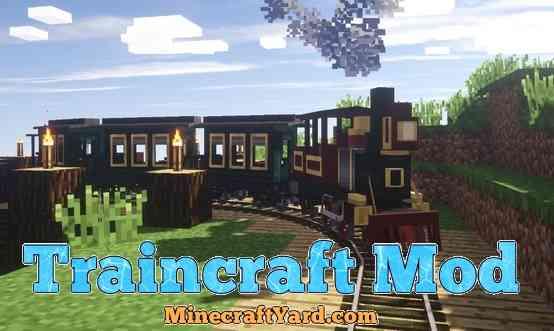 Traincraft Mod 1.16.5/1.15.2