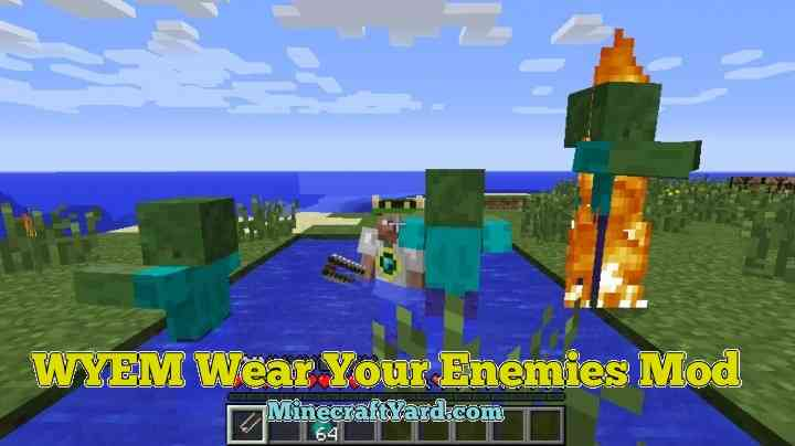 WYEM Wear Your Enemy Mod 1.16.2/1.16.1/1.15.2