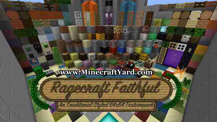 Faithful 64x64 Resource Pack 1.16.3/1.15.2