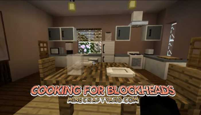 Cooking for Blockheads Mod 1.16.5/1.15.2