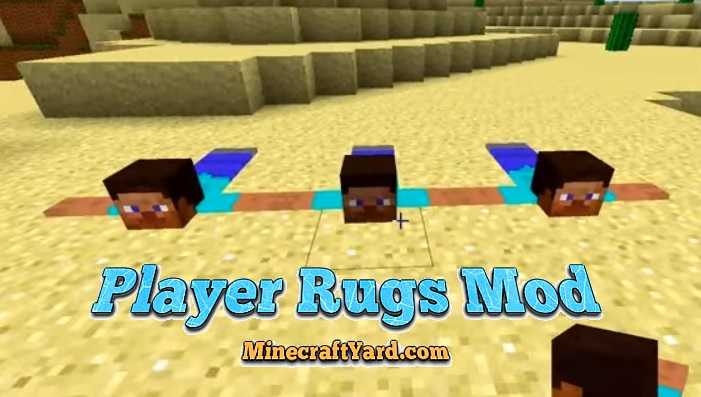 Player Rugs Mod 1.14/1.13.2/1.12.2/1.11.2