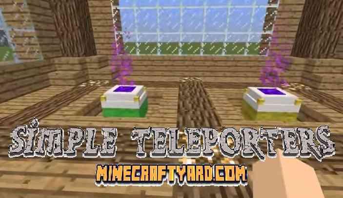 Simple Teleporters Mod 1.16.3/1.15.2