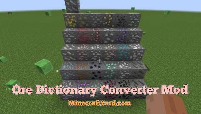 Ore Dictionary Converter Mod 1.14/1.13.2/1.12.2/1.11.2