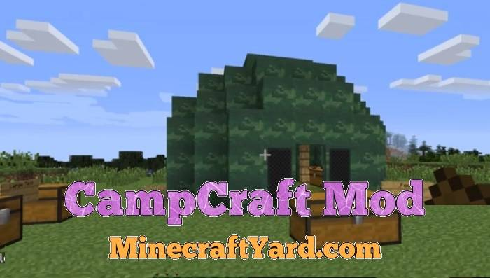 CampCraft Mod 1.16.5/1.15.2