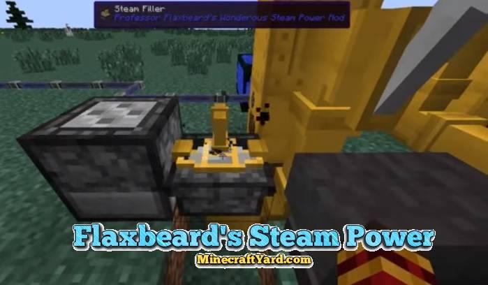Flaxbeard's Steam Power 1.16.5/1.15.2