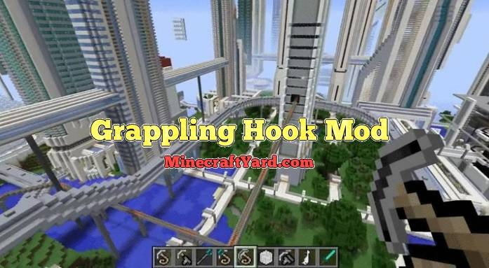 Grappling Hook 1.16.3/1.15.2