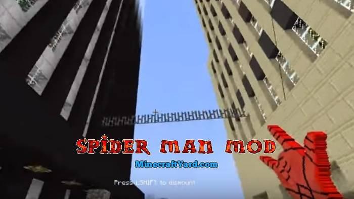 Spider Man Mod 1.14/1.13.2/1.12.2/1.11.2