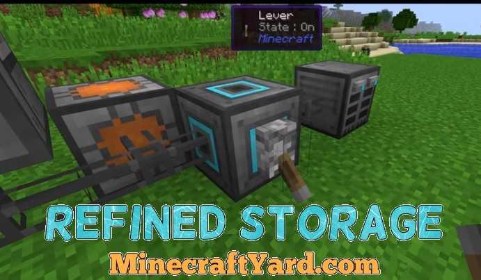 Refined Storage 1.16.3/1.15.2