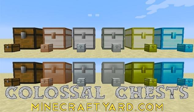 Colossal Chests 1.16.5/1.15.2