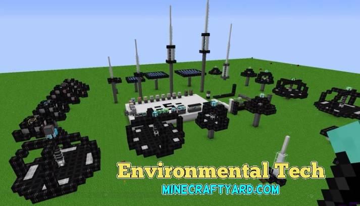Environmental Tech 1.14/1.13.2/1.12.2/1.11.2