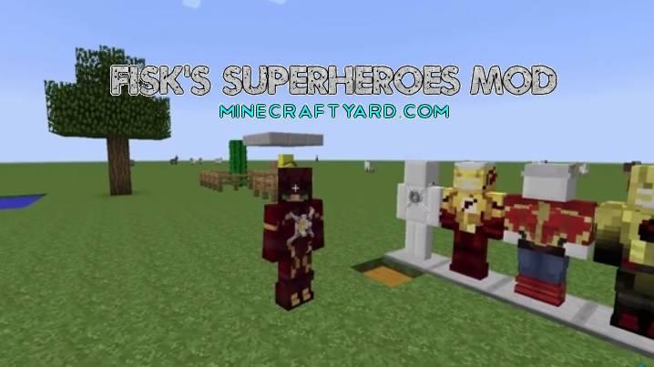 Fisk's Superheroes Mod 1.16.5/1.15.2