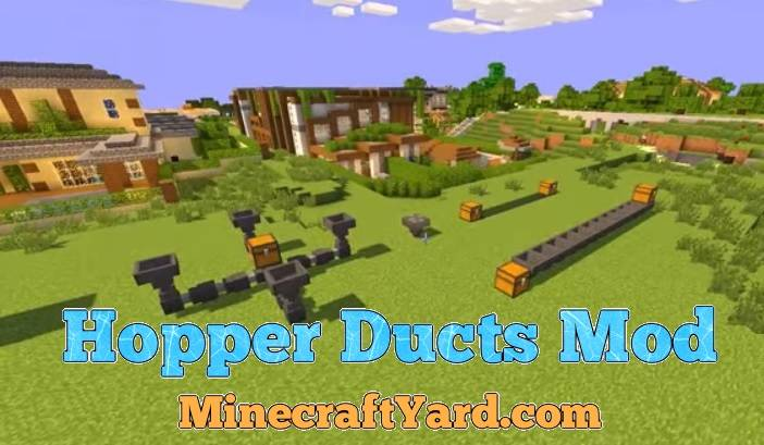 Hopper Ducts Mod 1.16.5/1.15.2