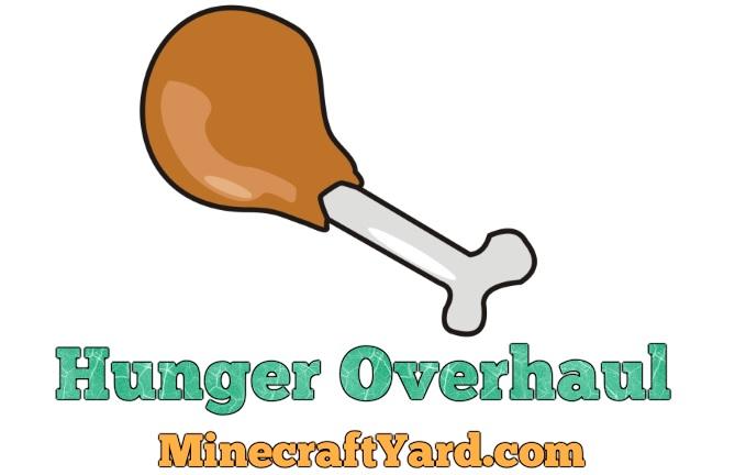 Hunger Overhaul Mod 1.16.2/1.16.1/1.15.2