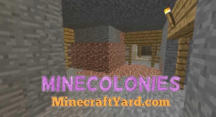 Minecolonies 1.14.4/1.13.2/1.12.2/1.11.2
