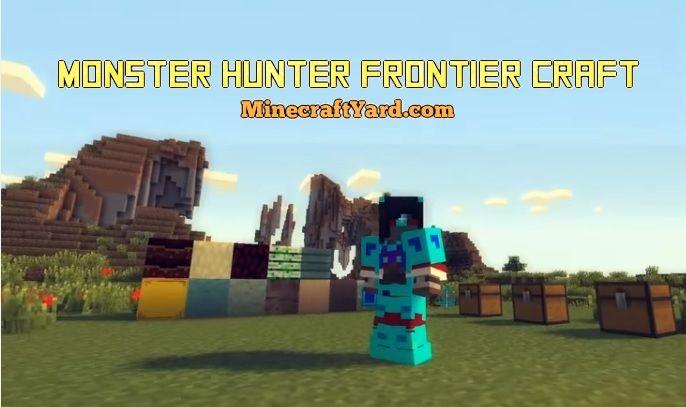 Monster Hunter Frontier Craft 1.14/1.13.2/1.12.2/1.11.2