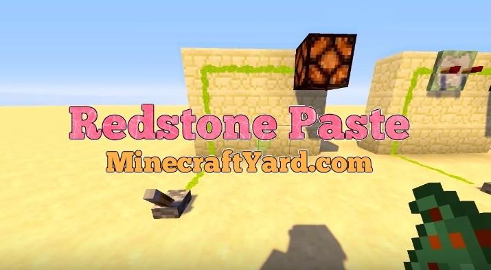 Redstone Paste Mod 1.16.5/1.15.2