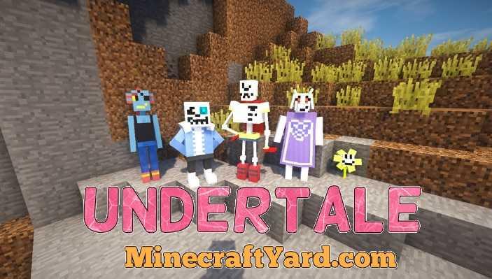 UnderTale Mod 1.16.5/1.15.2