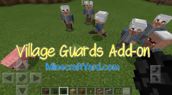 Village Guards Add-on 1.14.30/1.13.3/1.12.1/1.11.4