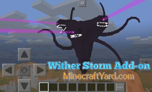 Wither Storm Add-on 1.12.1/1.12.0/1.11.4/1.11.3