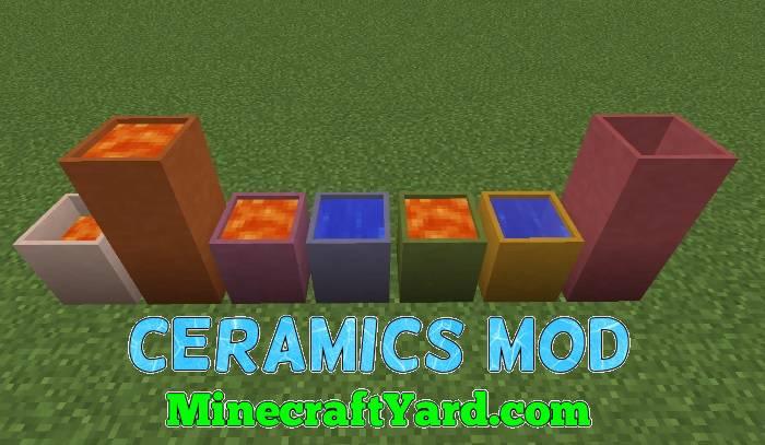 Ceramics Mod 1.14/1.13.2/1.12.2/1.11.2