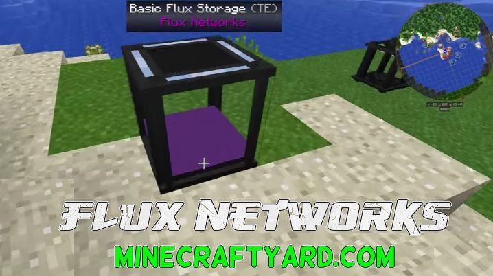 Flux Networks Mod 1.14/1.13.2/1.12.2/1.11.2