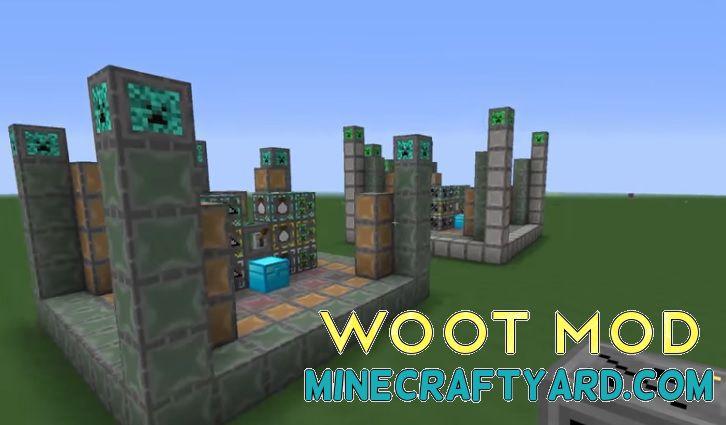 Woot Mod 1.16.5/1.15.2