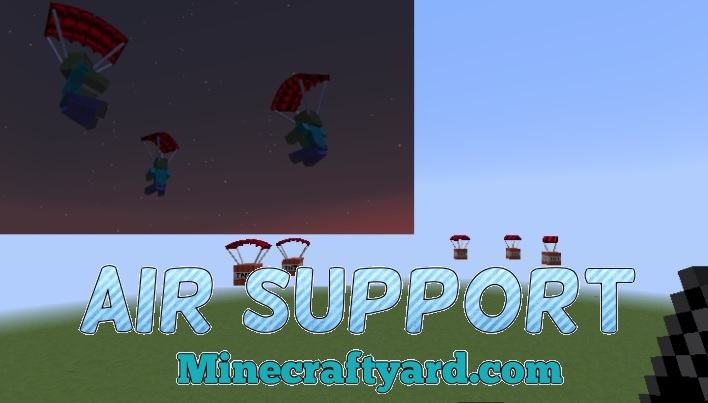 Air Support Mod 1.16.4/1.15.2
