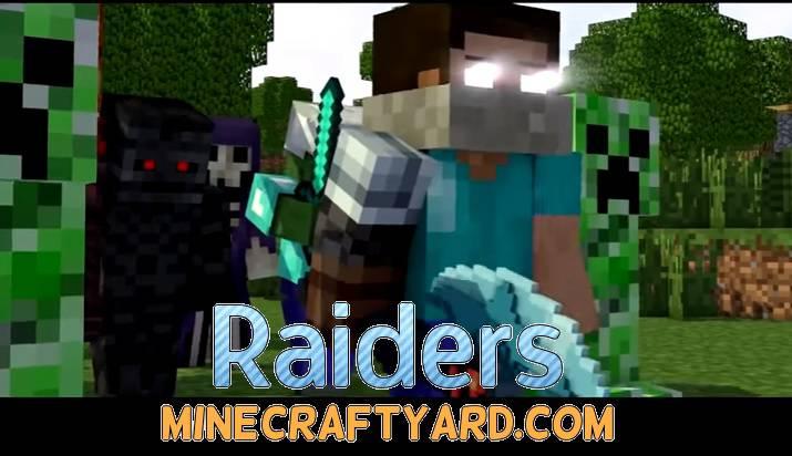 Raiders Mod 1.16.5/1.15.2
