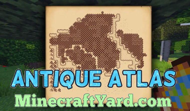 Antique Atlas 1.14.3/1.13.2/1.12.2/1.11.2
