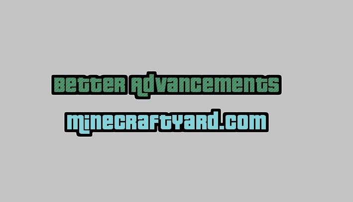 Better Advancements Mod 1.14.4/1.13.2/1.12.2/1.11.2