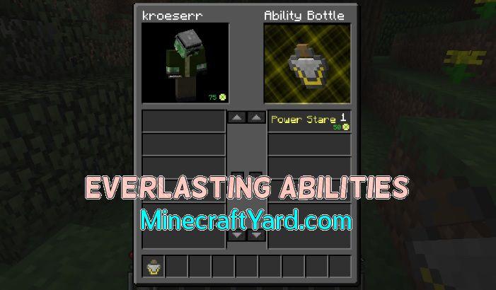 Everlasting Abilities 1.14.4/1.13.2/1.12.2/1.11.2