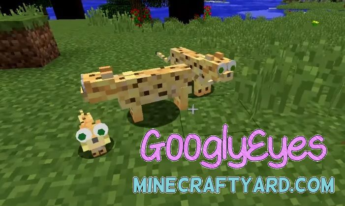 GooglyEyes Mod 1.14.3/1.13.2/1.12.2/1.11.2