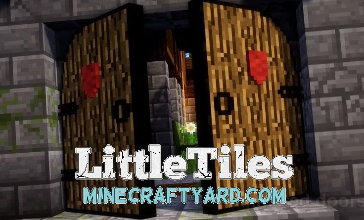 LittleTiles 1.14.3/1.13.2/1.12.2/1.11.2