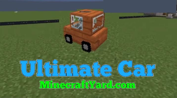 Ultimate Car 1.14.3/1.13.2/1.12.2/1.11.2