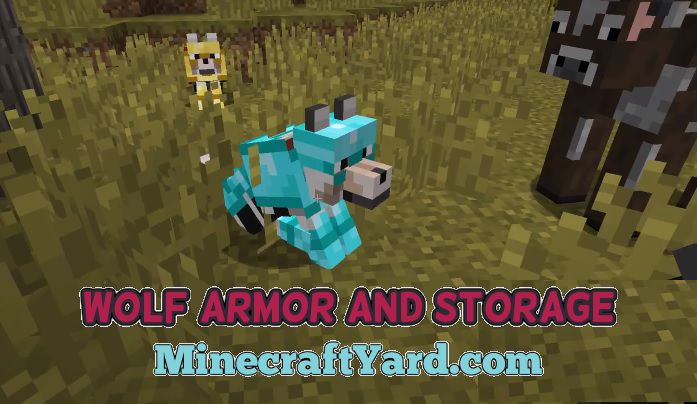 Wolf Armor and Storage Mod 1.16.2/1.16.1/1.15.2