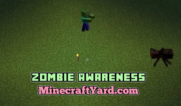 Zombie Awareness 1.14.3/1.13.2/1.12.2/1.11.2