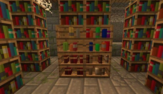 Inspirations Mod bookshelves