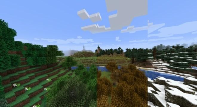 Serene Seasons Mod 1.15.2/1.14.4