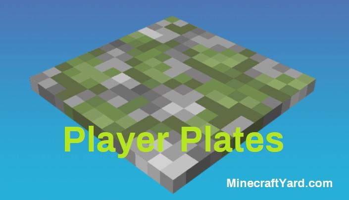Player Plates Mod 1.16.5/1.15.2