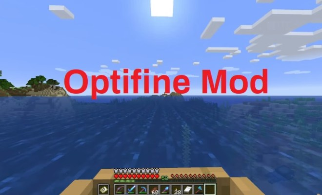 Optifine Mod shaders