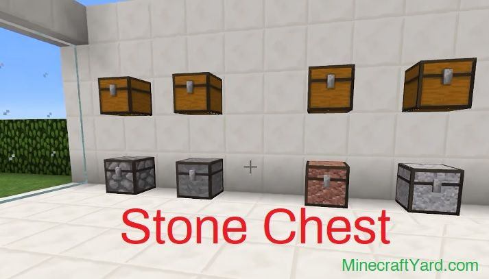 Stone Chest Mod 1.14.4/1.13.2