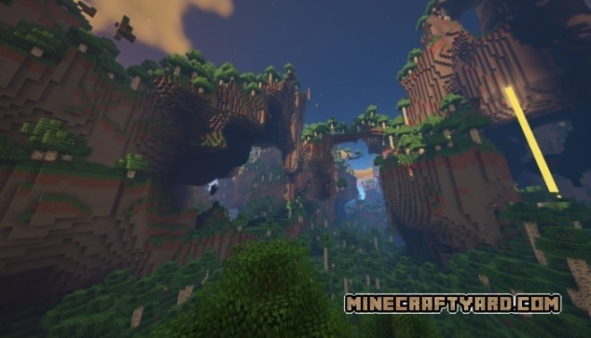 Default Amplified Biomes Amplified Birch Forest(Tall Variant)