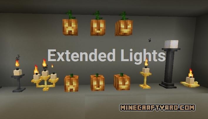 Extended Lights Mod 1.16.4/1.15.2