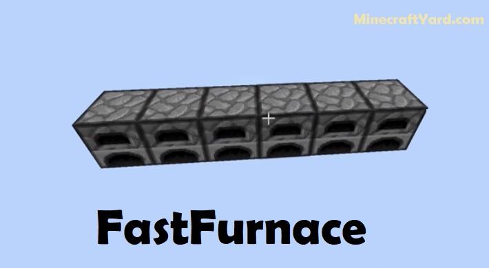FastFurnace Mod 1.16.1/1.15.2/1.14.4