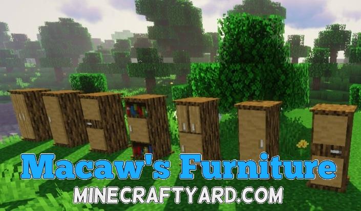 Macaw's Furniture Mod 1.15.2/1.14.4