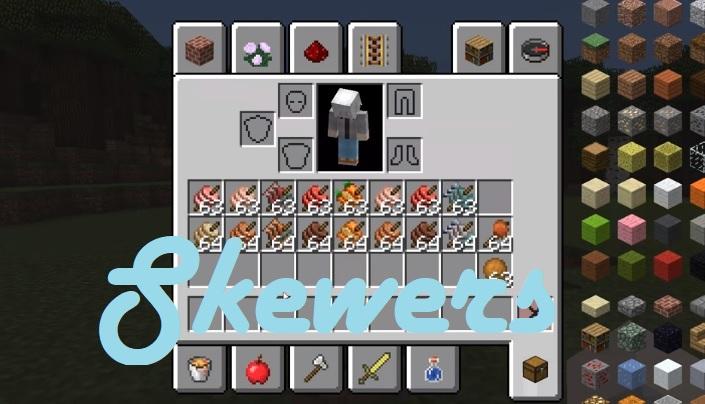 Skewers Mod 1.16.5/1.15.2