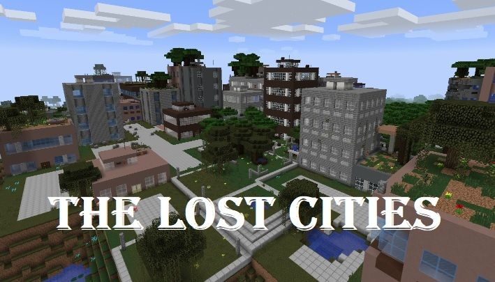 The Lost Cities Mod 1.16.5/1.15.2