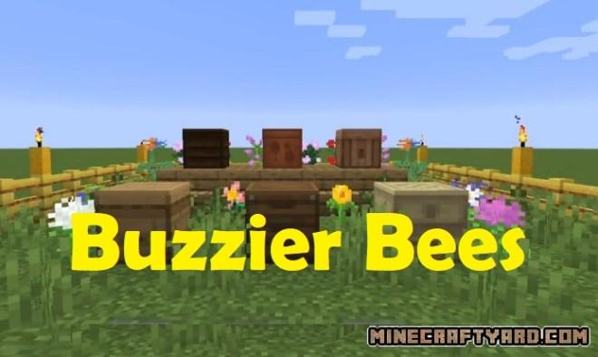 Buzzier Bees Mod 1.15.2