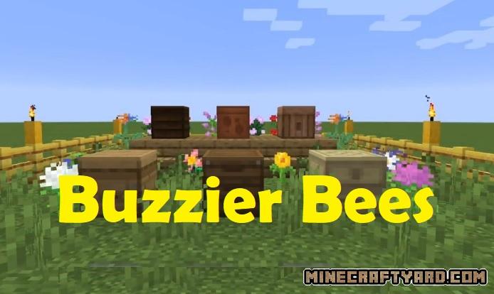 Buzzier Bees Mod 1.16.5/1.15.2